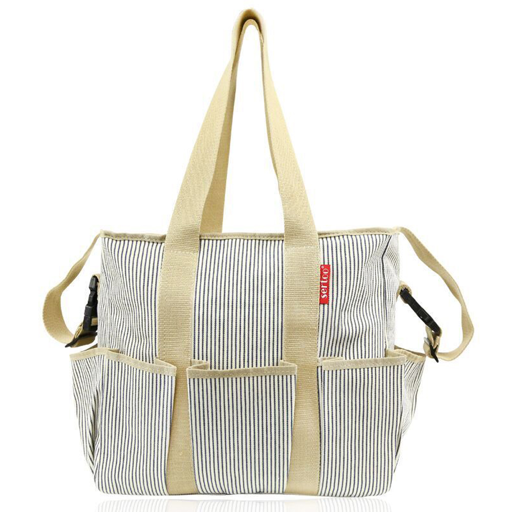 Stripes Baby Diaper Bag Cute Baby Nappy Bag Hobos Maternity Tote Bags Baby Care Changing Bag for Stroller Hot SaleStripes Baby Diaper Bag Cute Baby Nappy Bag Hobos Maternity Tote Bags Baby Care Changing Bag for Stroller Hot Sale