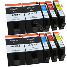 10 Ink Cartridge 934XL 935XL for Officejet Pro 6230 6820 6830 6835 Printer  934 935