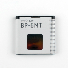 Original High Capacity BP-6MT phone battery for Nokia 6720 E51 E51i N81 N82 BP6MT 1050mAh
