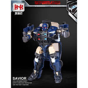 Image 3 - BMB Transformation G1 Barricade TF5 Polic Car Model voyager Oversize Action Figure Toys