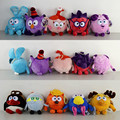 1Pcs Russian Smeshariki Cartoon Dolls Stuffed Animals Happy Football Plush Toys Kikoriki Toy for children Kids Gifts 25cm - 30cm