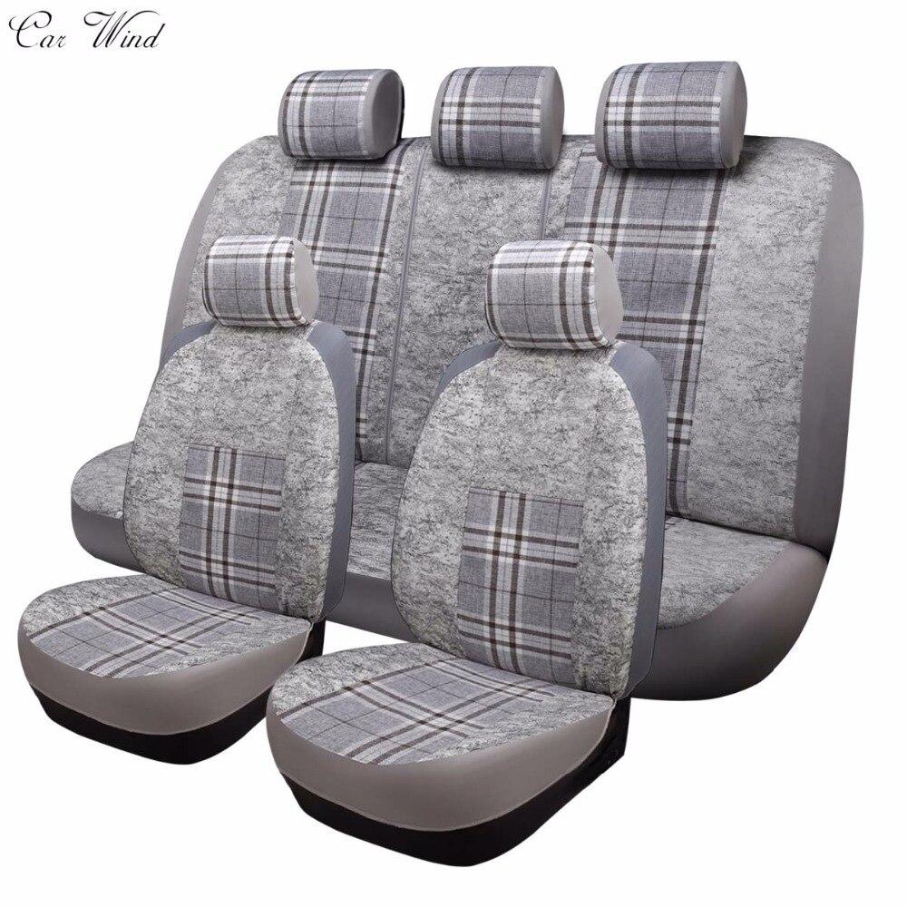 Автомобиль ветер Универсальный Чехлы на сиденья автомобиля чехлы для мест Toyota ford focus mazda VW Polo Гольф Suzuki автомобильные аксессуары