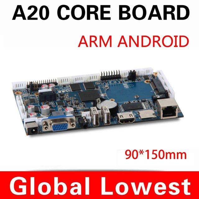 Hot! Motherboard motherboard inteligente allwinner AD200 motherboard com cartão SD / publicidade wi fi máquina dedicada