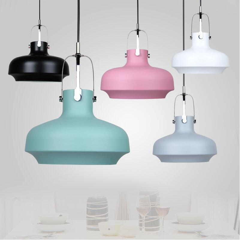 Denmark Designer Space Copenhagen Colorful Aluminium Pendant Lights Lamps Suspension Hanging Lamp Dining Room Restaurant Shop