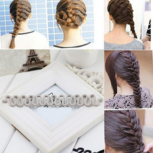 New Arrival Fashion Hair Braiding Tool Roller Magic hair Twist Styling Bun Maker Hair Tool Best Gift for Gilr friend