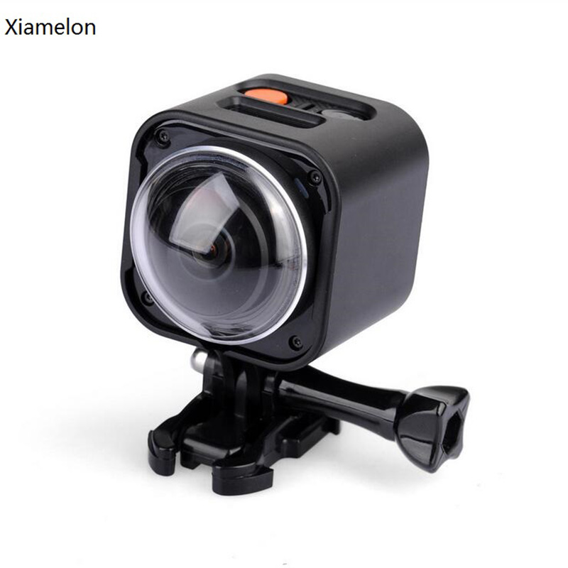 Xiamelon 360 Degree Panorama Sports Camera HD 4K Outdoor Waterproof Sports DV Watch Remote Control WIFI