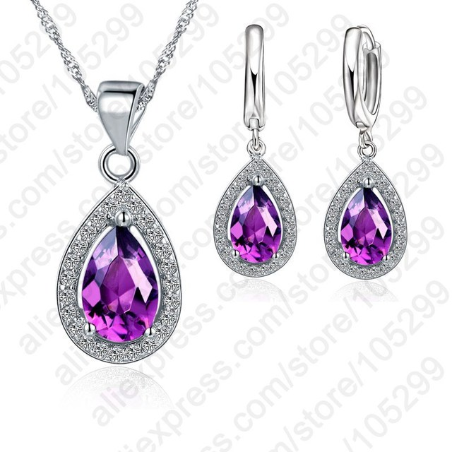 Cubic Zirconia Jewelry Sets...