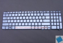 Brand New Silver Laptop Notebook Keyboard 496672-001 AEUT6U00020 For HP HDX X16 series (US)
