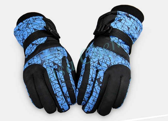 Multi colours Women ski snowboard font b gloves b font 1 pair winter warm outdoor motorcycle