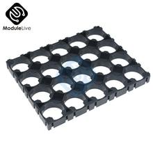 10 шт., 4x5, 4*5 клетка, держатель для батарей Spacer 18650, литиевые батареи 18650, пластиковая стойка, батареи с излучающим корпусом, упаковка из 100% ного происхождения