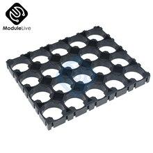 10 sztuk 4x5 4*5 separator ogniw 18650 uchwyt baterii 18650 bateria litowa plastikowy stojak baterie promieniowanie Shell Pack 100% pochodzenie
