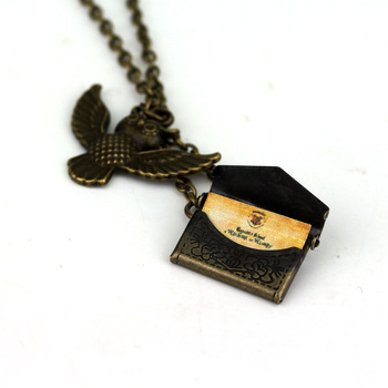 Кулон Сова с письмом Гарри Поттер