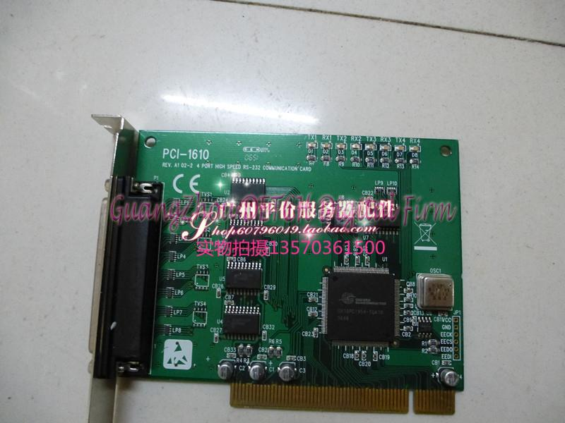 PCI-1610 REV.A1 data acquisition card 4-port RS-232