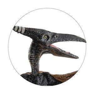 Игрушечная модель динозавра Юрского периода, Птерозавр, парк Королевства 5 4 3 2 1, пластиковые реалистичные фигурки, детская коллекция