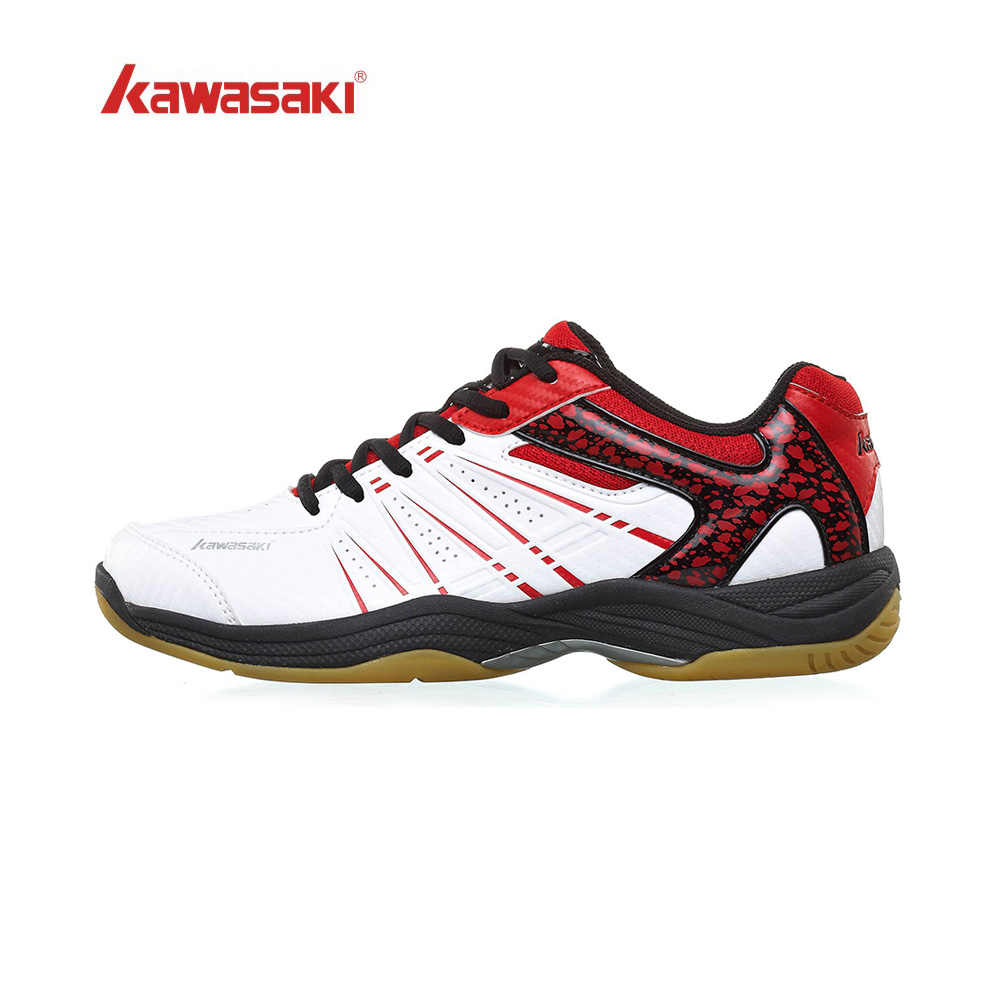 Original Kawasaki Badminton Shoes Men Women Badminton Training Shoes Whirlwind Series Sports Sneakers