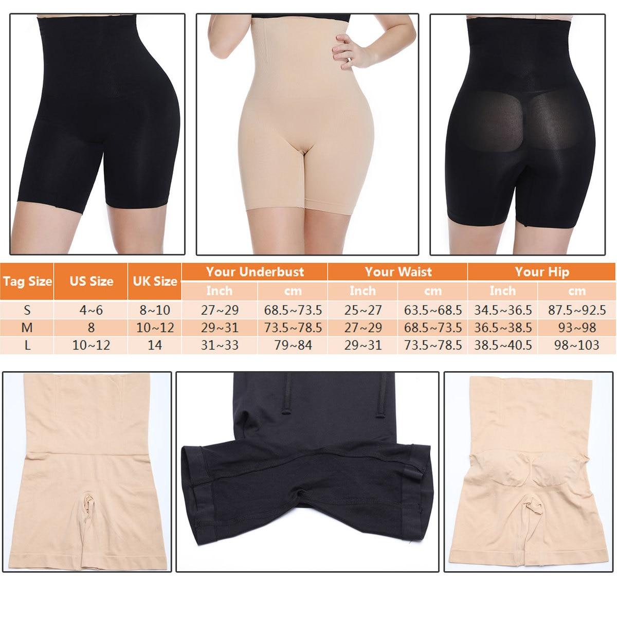 Womens Tummy Trimmer Instant Slimming Belt Girdle Body Shapers UK 8-10
