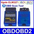 2016 OBD Herramienta de Análisis Vgate ELM327 Bluetooth V2.1 Mini OLMO 327 OBDII OBD2 CAN-BUS de Diagnóstico Del Escáner Para Android Torque Ventanas