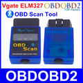 2016 Vgate ELM327 Bluetooth V2.1 OBD Scan Tool Mini ELM 327 OBDII OBD2 CAN-BUS Diagnostic Scanner For Android Torque Windows