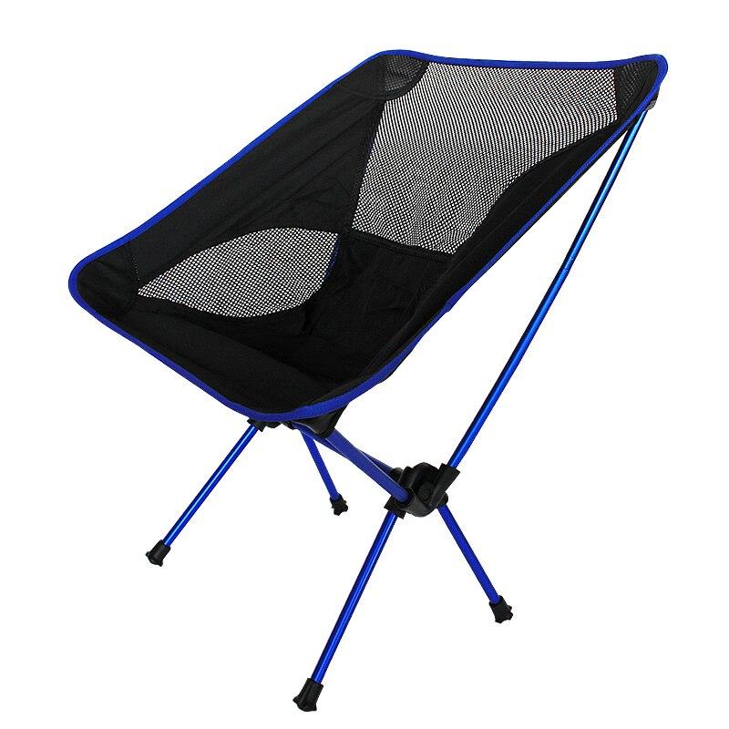 Nouveau Extérieure Pliable Chaise De Plage Portable En Alliage D'aluminium Chaise De Pêche Chaise Livraison gratuite dans Chaises de plage de Meubles