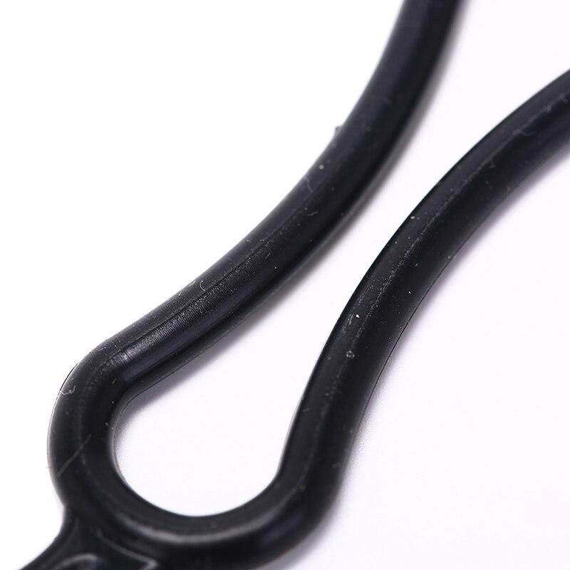 4 шт. Полезная Горячая черная резинка ПВХ кольцо для T6 светодиодный налобный фонарь для велосипеда