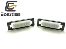 Eonstime 2pcs LED Number License Plate Lamps OBC Error Free 18 LED for Mercedes Benz W210 W202 E300 E55 C230 C43 AMG