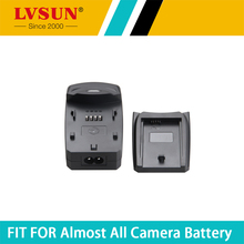 LVSUN Multi-Function Digital Camera Camcorder Battery Charger with USB Port + EU Plug Power Cord + DC Plug for Nikon ENEL23
