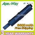Apexway 6600 mah 9 células bateria do portátil para toshiba pa3534u-1bas pa3534u-1brs para satellite l300 a200 a205 a210 pro l300 a200 l500