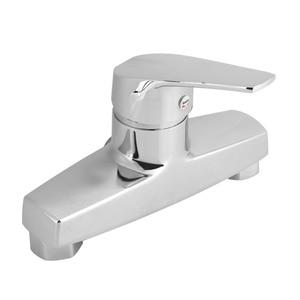 Image 1 - אבץ סגסוגת אמבטיה אמבטיה ידית אחת ברז קיר רכוב אמבטיה מקלחת שסתום מיקסר ברז