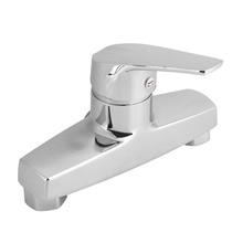 Çinko alaşımlı banyo küveti tek kolu musluk duvara monte banyo duş vana musluk bataryası