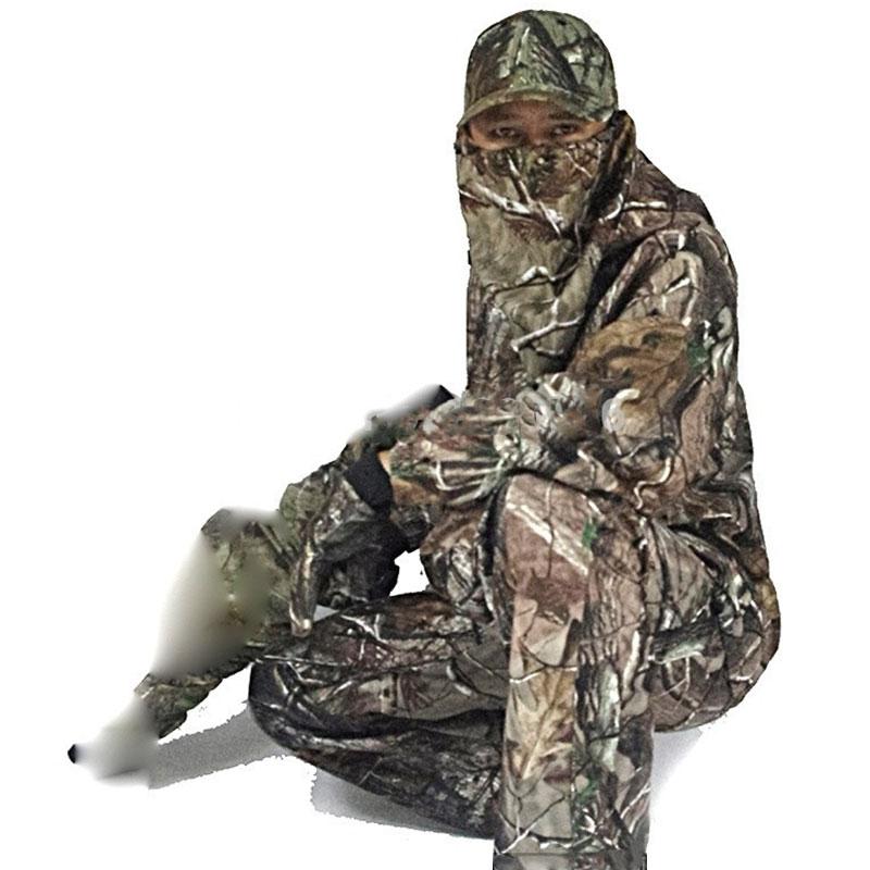 Bionic Camouflage Ghillie costumes hommes militaire tactique Sniper chasse vêtements à capuche Camo vêtements automne printemps observation des oiseaux