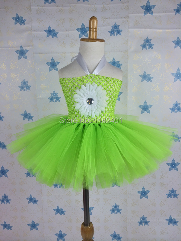 Newest St Patrick Day Baby Tutu Dress Children Crochet Tube Top