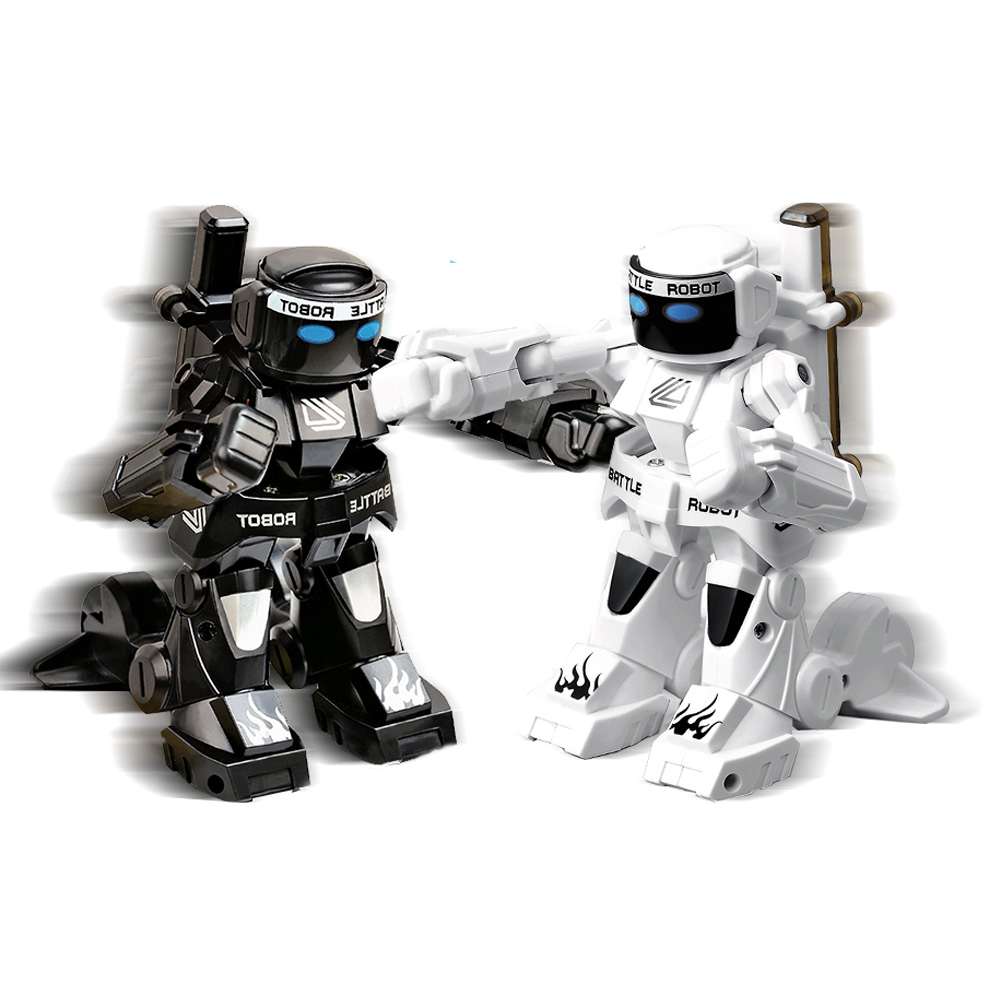 Body Sense Remote Control Combat Robot With Boxing Sound and Indicative Light for Kids
