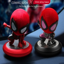 2019 new Spiderman style for Car Solid Air Freshener Perfume Eliminates Odor Fresh Decorations styling