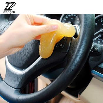 1Pc Car Styling żel oczyszczający dla Seat Leon 2 3 Ibiza Lada Granta Opel Astra H J G Insignia Vectra C Zafira B Nissan Qashqai Juke tanie i dobre opinie Włókien syntetycznych BOOMBLOCK
