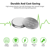 20pcs lot Soshine 20pcs/lot CR2016 3V Lithium Battery DL2016 ECR2016 LM2016 BR2016 CR 2016 Button Coin Cell Batteries For Watch Computer (3)