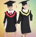 Vestido de ropa para niños de Rendimiento Académico Dr. Kindergarten Paño Graduado Licenciatura Trajes Dr. Cap Envío Gratis