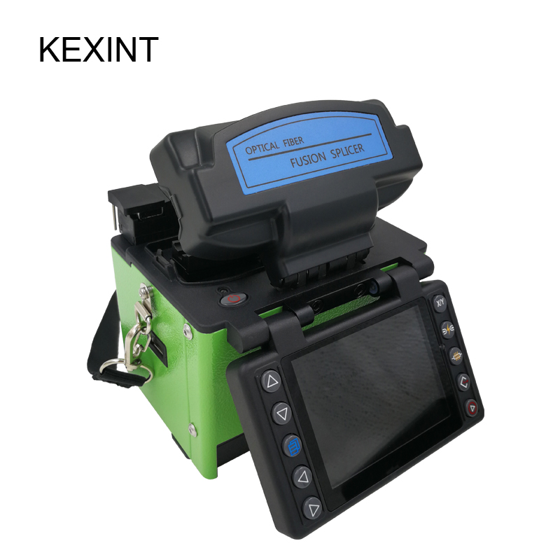 KEXINT Fusion Splicer Optical Fiber Fusion Splicer with accessorries Fusion Splice Equipment