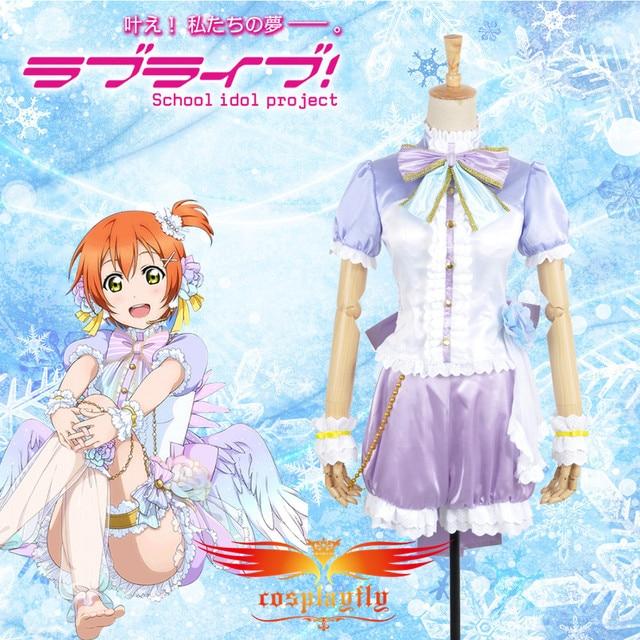 Anime Love Live Rin Hoshizora White Valentine S Day Angels