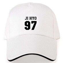 c865290a6a4 2018 New Twice Kpop Momo NA YEON JUNGYEON baseball cap adjustable white  cotton hat