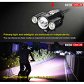 KLARUS BK30 Rotatable Headlamps Bike Cycling Front Headlight 1280 Lumens CREE XM-L2 U2 + 2*XP-G2 Flashlight With Pressure Switch
