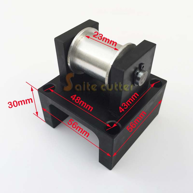цена Timing Synchronous Belt Tension Pully Tensioner Pulley DIY Laser Engraving Cutting Machine X Y Axis