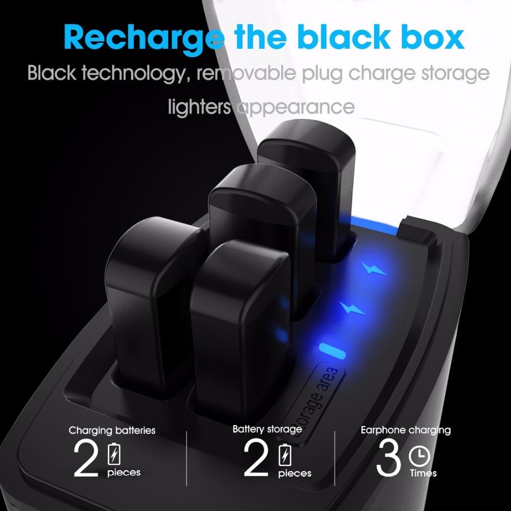 2019 version améliorée syllabe D9X TWS batterie détachable Bluetooth V5.0 écouteurs Portable plus léger étui de Charge de syllabe D9X - 5