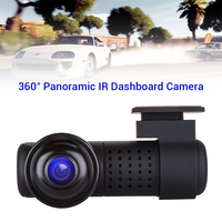 Blueskysea Dash Cam 360 Degree Panoramic Car HD DVR Night Vision 2160P Sony IMX326 Security Wifi Camera