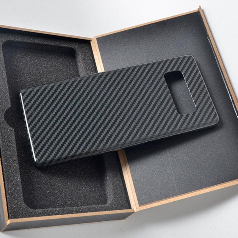 Fibre de carbone Pure coque de téléphone rétro D'origine en fibre de carbone véritable étui pour iphone 6 S 7 8 plus X S coque de protection arrière rigide couverture d'écran