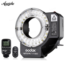 Godox AR400 400w Witstro Ring wireless HSS Flash LED Video Light with 4500mAh Li-ion Battery for CANON NIKON
