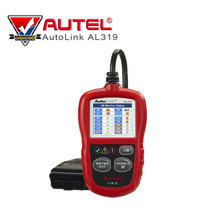 Professional Auto diagnostic Code reader Autel AutoLink AL319 AUTO scan tool update on official website