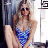 2018 Europe And America New Arrivals Sexy Bathing S Women Swimwear One Piece Double Sided High