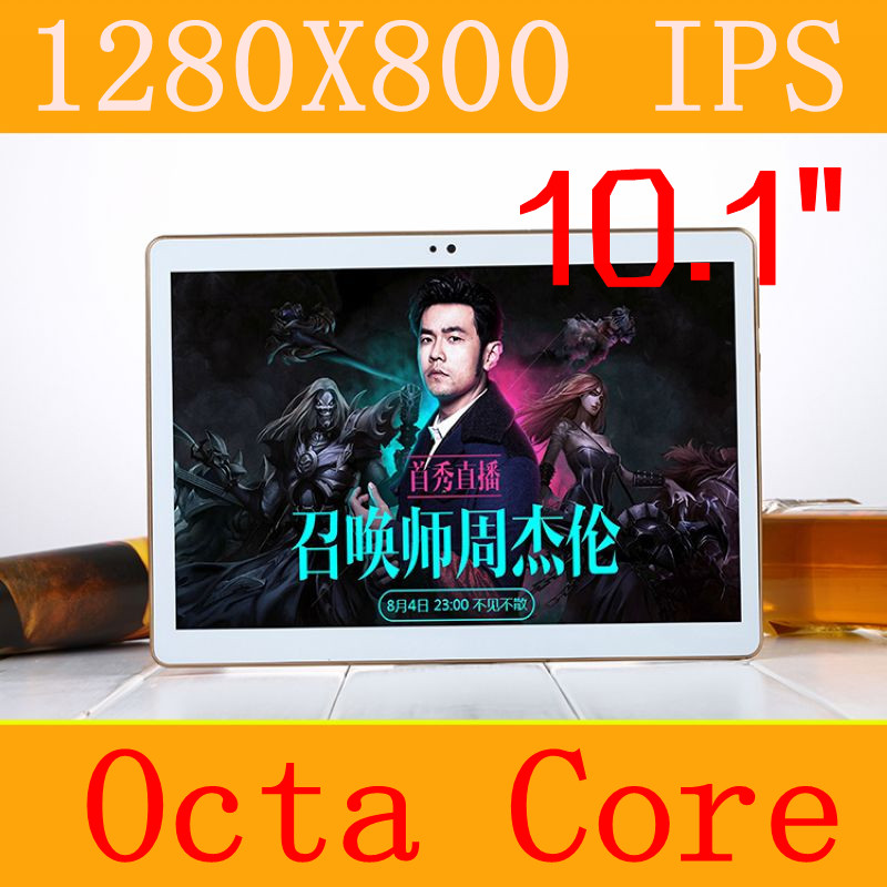 10 1 Tablet PC 3g 4g tablet Octa Core 1280 800 ips 5 0mp 4gb 64gb