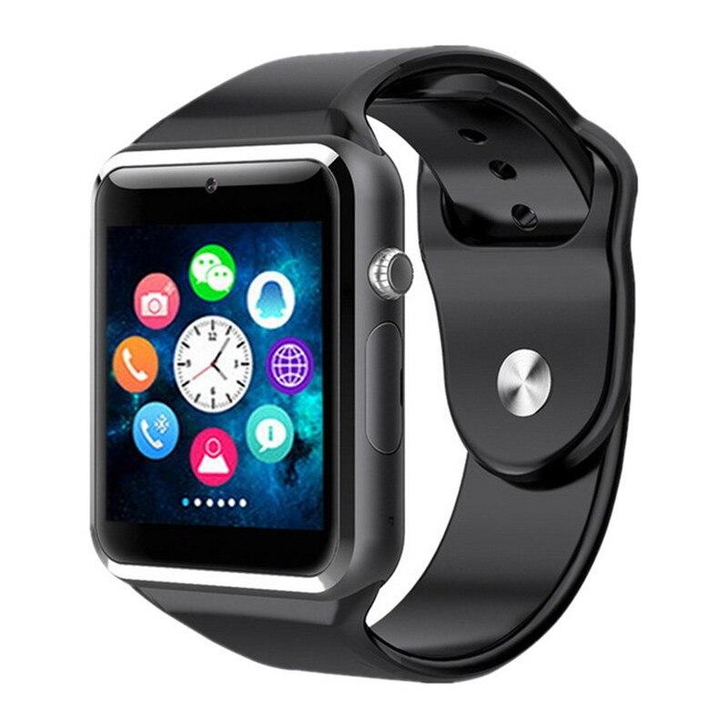 GETIHU Smart Uhr Digitale Handgelenk mit Männer Kamera Bluetooth Armbanduhr SIM Karte Sport Smartwatch Für iPhone Samsung Android-Handy