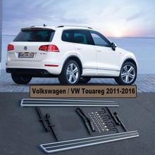 Для Volkswagen VW Touareg 2011-2016 Автомобиля Подножки Авто Подножка Бар Педали Высокое Качество Новый Оригинальный Дизайн Nerf бары